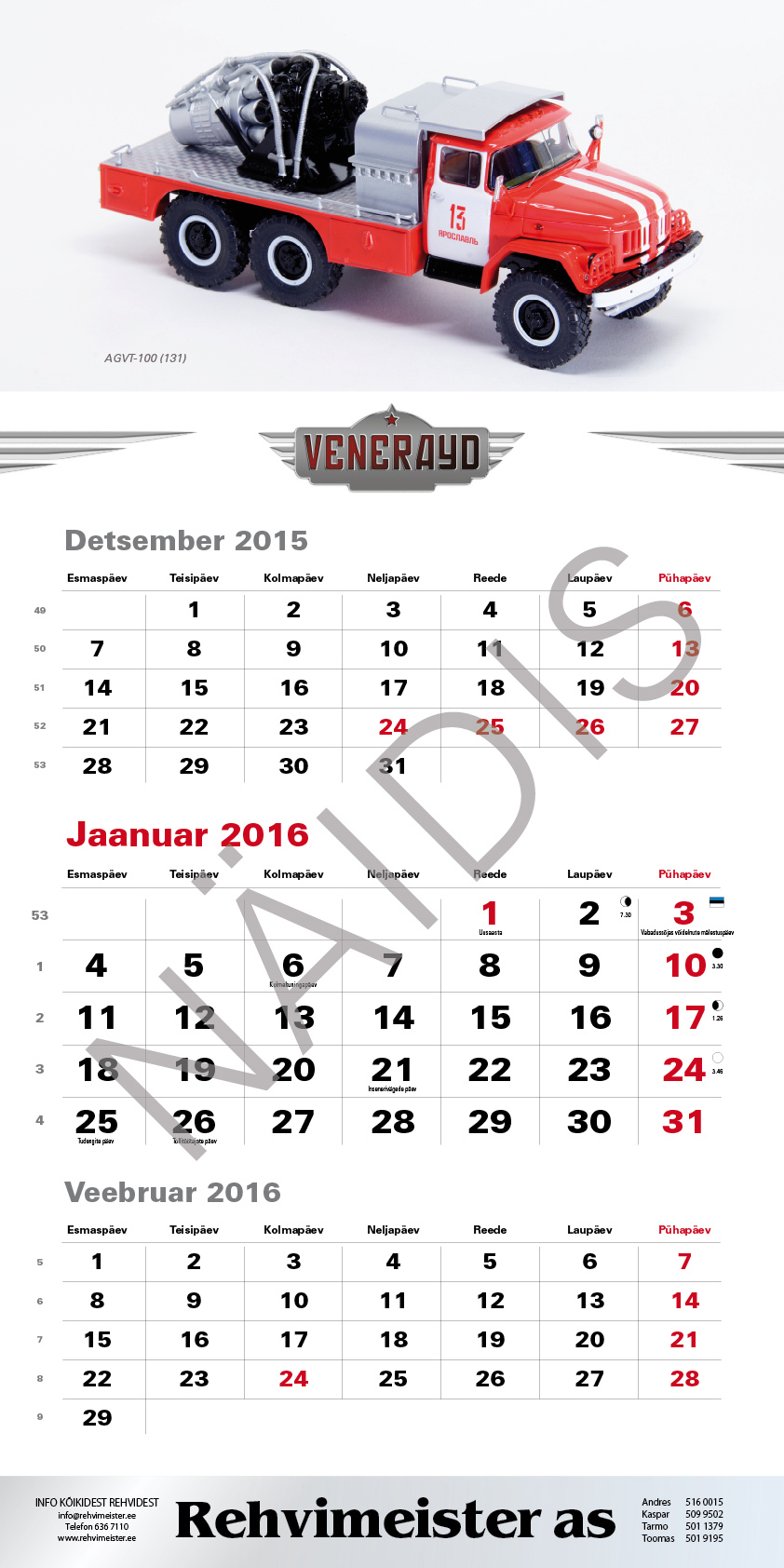 Veneraud_kalender_2016_2